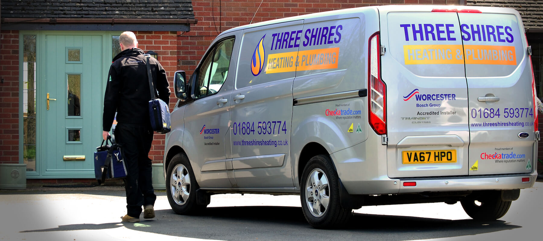 Three Shires Van